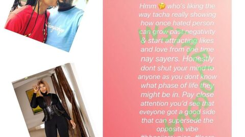 Tacha shows how a once hated person can grow past negativity and start attracting likes and love — BBN's Jackye's boyfriend