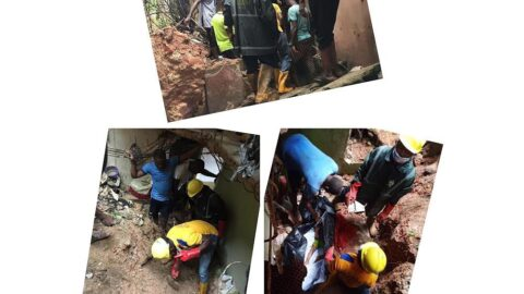 Two children killed as storey building collapses in Lagos