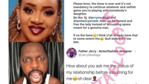 Ex UltimateLove guest, Jerry, blasts fellow guest, Cherry, for poking her nose into his relationship