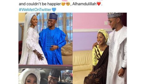 Nigerian couple marry months after an early-morning DM on Twitter