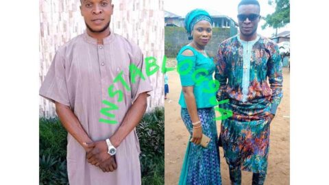 Graphic: Man brutalizes wife for refusing to abort their 3-month-old pregnancy .