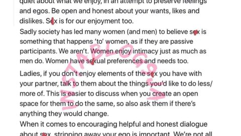 Ladies you're doing yourselves a disservice when you pretend to enjoy bad s*x – Writer, ToniTone