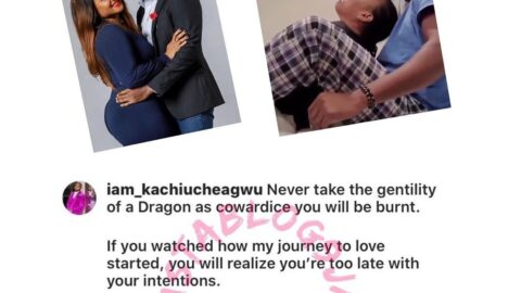 Ex Ultimate Love Guest, Kachi, fiercely warns those attacking his relationship with Rose