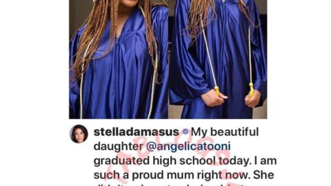 Actress Stella Damascus' daughter emerges the valedictorian of her high school, bags a university scholarship