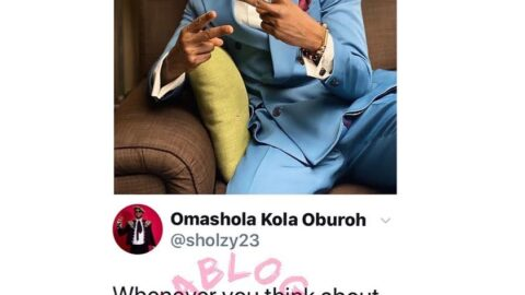 What to do whenever you think of disrespecting a woman — Reality TV Star, Omashola