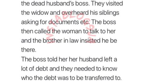 How a boss saved a widow from losing her husband's benefits to his brother