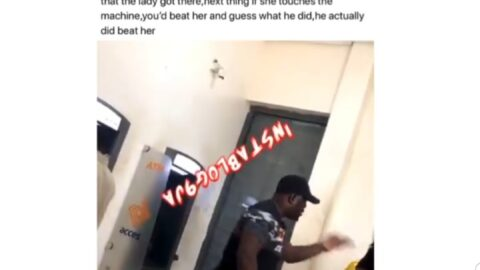 """""""That you're a girl doesn't mean you should talk to me anyhow,"""" man says, as he hits a lady at an ATM stand"""
