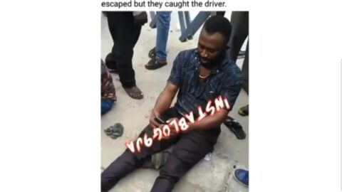 No casualties as SARS operatives chase suspected robbers into a gutter in Festac, Lagos