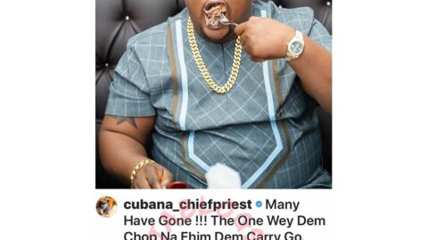 Invest in your enjoyment, it's your greatest asset — Cubana Chief Priest