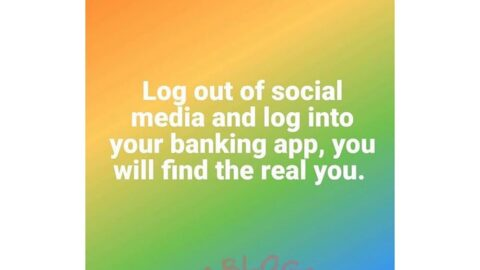 Daily log off social media and log into your banking app to find the real you — Music Executive, Soberekon