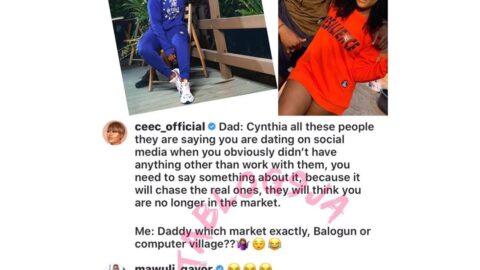 Cee-C addresses dating rumors with actor Mawuli Gavor