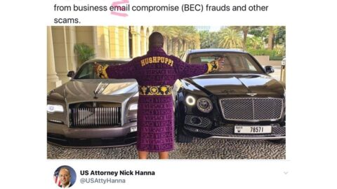 Hushpuppi appears in U.S. court. Premier League club escapes being scammed of £100m by him