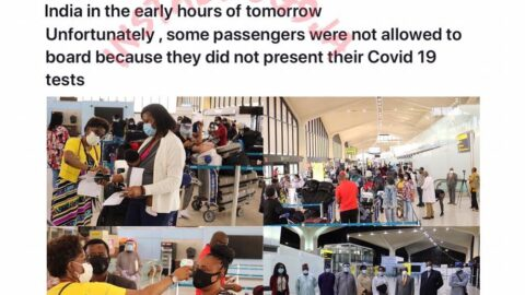 322 Nigerians evacuees arrive Lagos from the U.S