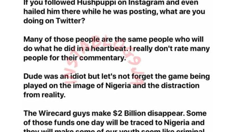 Many of those criticizing Hushpuppi would do what he did in a heartbeat — Businessman Asemota