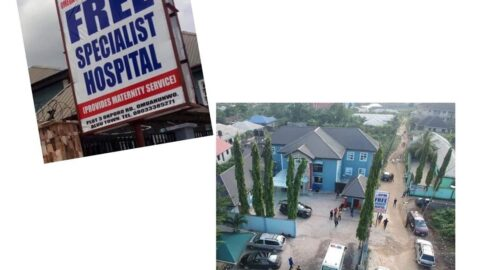 Pastor Chinyere closes OPM free hospital as community insists he must pay levies .