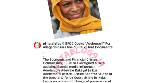 EFCC arraigns comedian Adeherself for possession of fraudulent documents