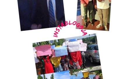 Hushpuppi: Protesters storm US Embassy, demand arrest of Atiku and Dino Melaye .