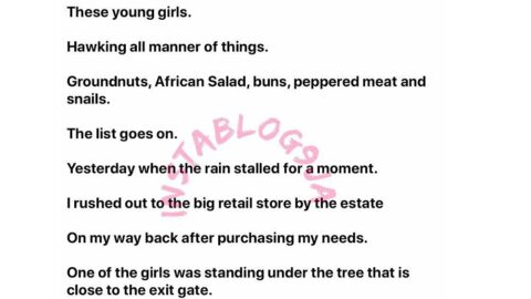 My encounter with an underage vendor who offered me sex for my kind gesture — Writer Idada [Swipe]