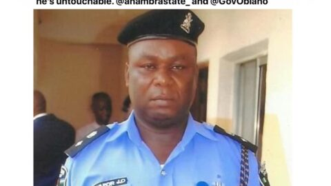 Lady finds out the Anambra police officer allegedly responsible for her brother's disappearance, is on Twitter. [Swipe]