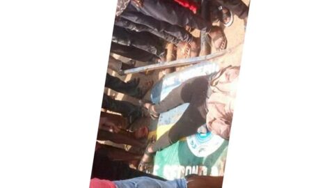 Graphic: Policeman murders a bikeman over N50 face mask bribe .