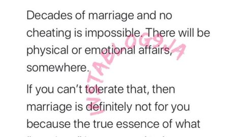 Decades of marriage and no cheating is impossible — PR expert Ndabezitha