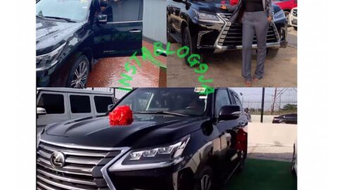 Actress Mimi Orjiekwe gets what she wanted for her birthday, a brand new SUV