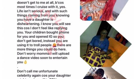 """BBN's Thelma lambasts a mom who called her an """"unfortunate celebrity"""""""