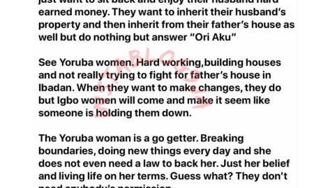 Media Personality Noble Igwe shares his opinion about Igbo women. [Swipe]