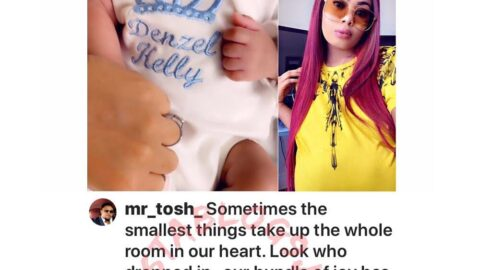 BBN's Nina and her husband welcome baby boy in the US