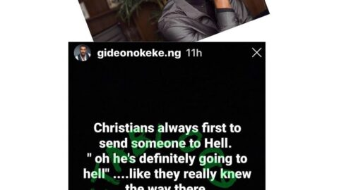 Christians make God out to be this huge fiend without a sense of humor — Actor Gideon Okeke