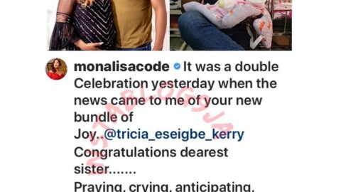 Nollywood actress Esiegbe and husband welcome a child after 10 years of marriage