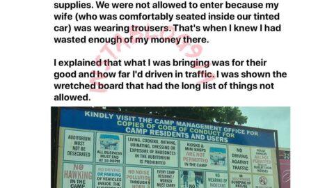 How I knew I had wasted enough money at Redemption Camp — Philanthropist Olatunji [Swipe]