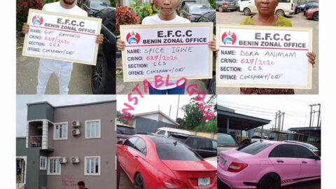 22-yr-old undergraduate, his mother and girlfriend arrested over suspected internet fraud .