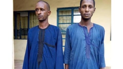 Police arrest two suspects for killing and dismembering an 18-yr-old girl in Niger .
