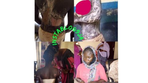 Lady arrested for pouring hot water on her stepsister in Kogi .