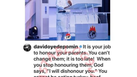 You can't be eating turkey, beef, chicken, fish while your parents are starving — Bishop Oyedepo