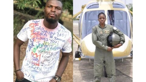 Air force reveals identity of classmate who caused the death of Nigeria's first female combat helicopter pilot .