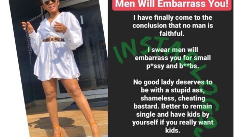 After an extensive research, actress Ifu Ennada concludes that no man is faithful