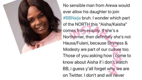 Kaisha: No sensible northerner will allow his daughter go to BBNaija — Socialite Saleeem
