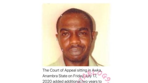 N12.4m Fraud: Convict Loses Appeal, Gets Additional Two Years