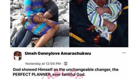 Couple welcomes a child after 21 years of marriage in Anambra State [Swipe]