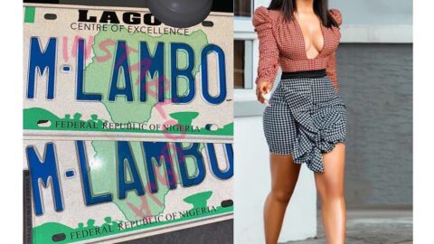 Another Win: Mercy Eke becomes the first BBN winner/contestant to own a customized number plate