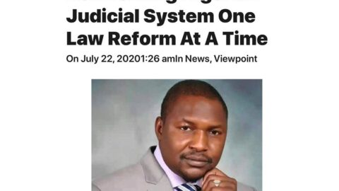 Malami: Legal Luminary Reinventing Nigerian Judicial System One Law Reform At A Time [SWIPE]