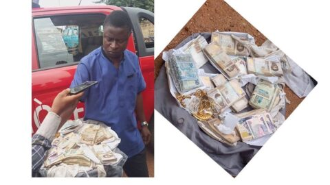 Amotekun arrests man who stoleN1.2m from his landlord and kept it in a bush .