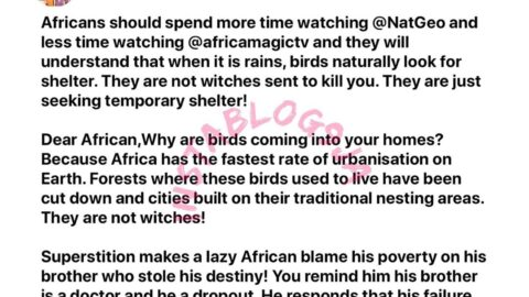 """Ignorance is the biggest """"winch"""" in Africa — Reno Omokri"""