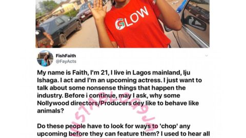 Sex-for-role: 21-yr-old up and coming actress calls out a producer [Swipe]