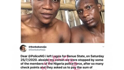 We were kept under the rain, extorted and treated like criminals — Nigerian man recounts his Police ordeal along the Benin-Ore expressway. [Swipe]