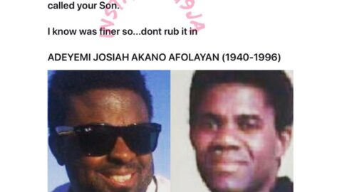 Filmmaker Kunle Afolayan thanks his late legendary dad, Adelove, for marrying many wives