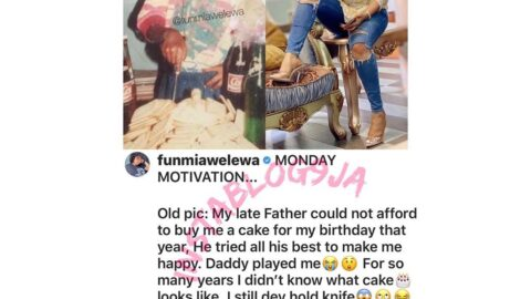 Monday Motivation: Actress Funmiawalewa, shocked at what she was given as a kid for her birthday