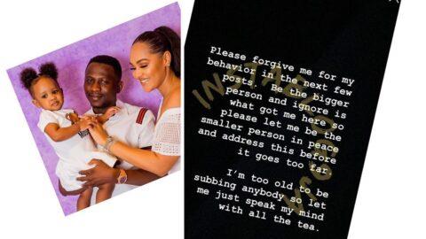 Lagos businesswoman, Tania Omotayo, addresses ladies bullying her child online. [Swipe]